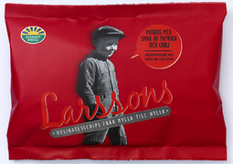 Larssons lille chips Paprika/chili